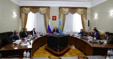 Губернатор  Астраханской области провёл встречу с консулами Ирана, Казахстана и Туркменистана